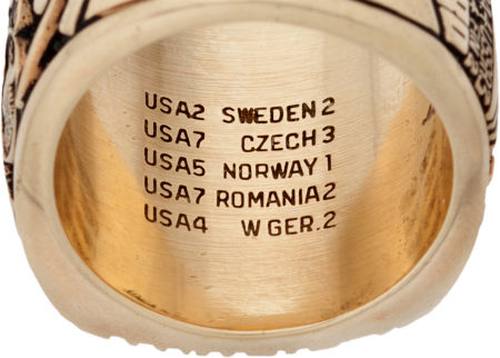 Herb Brooks' Olympic auction