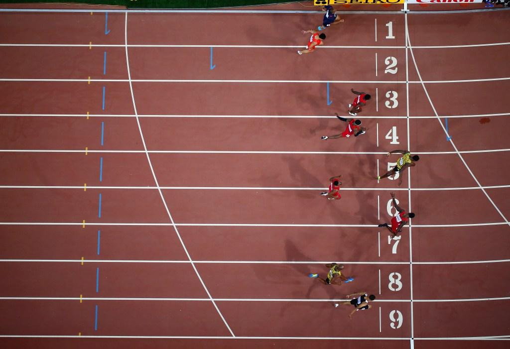 Usain Bolt, Justin Gatlin