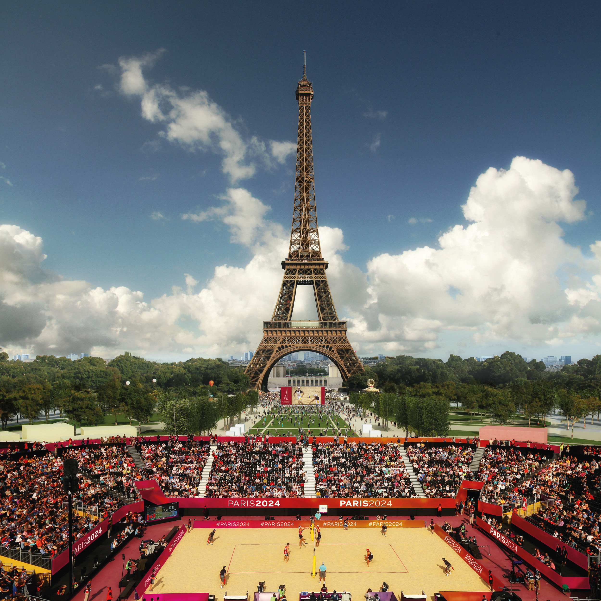 Champ de Mars - (Volley de plage + Boccia) -3-