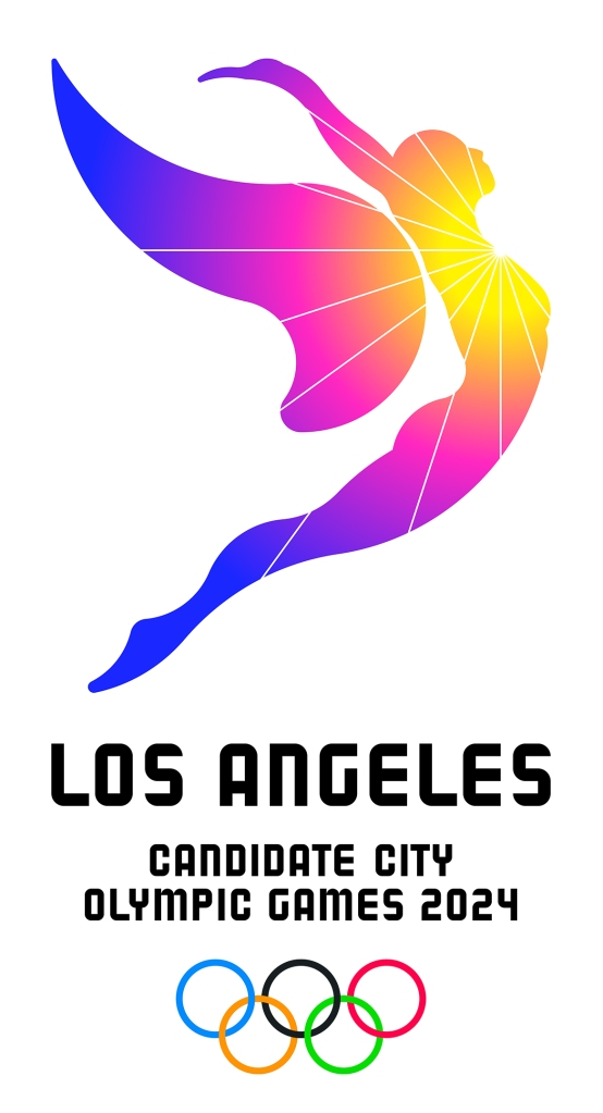 Los Angeles 2024 Olympic bid logo