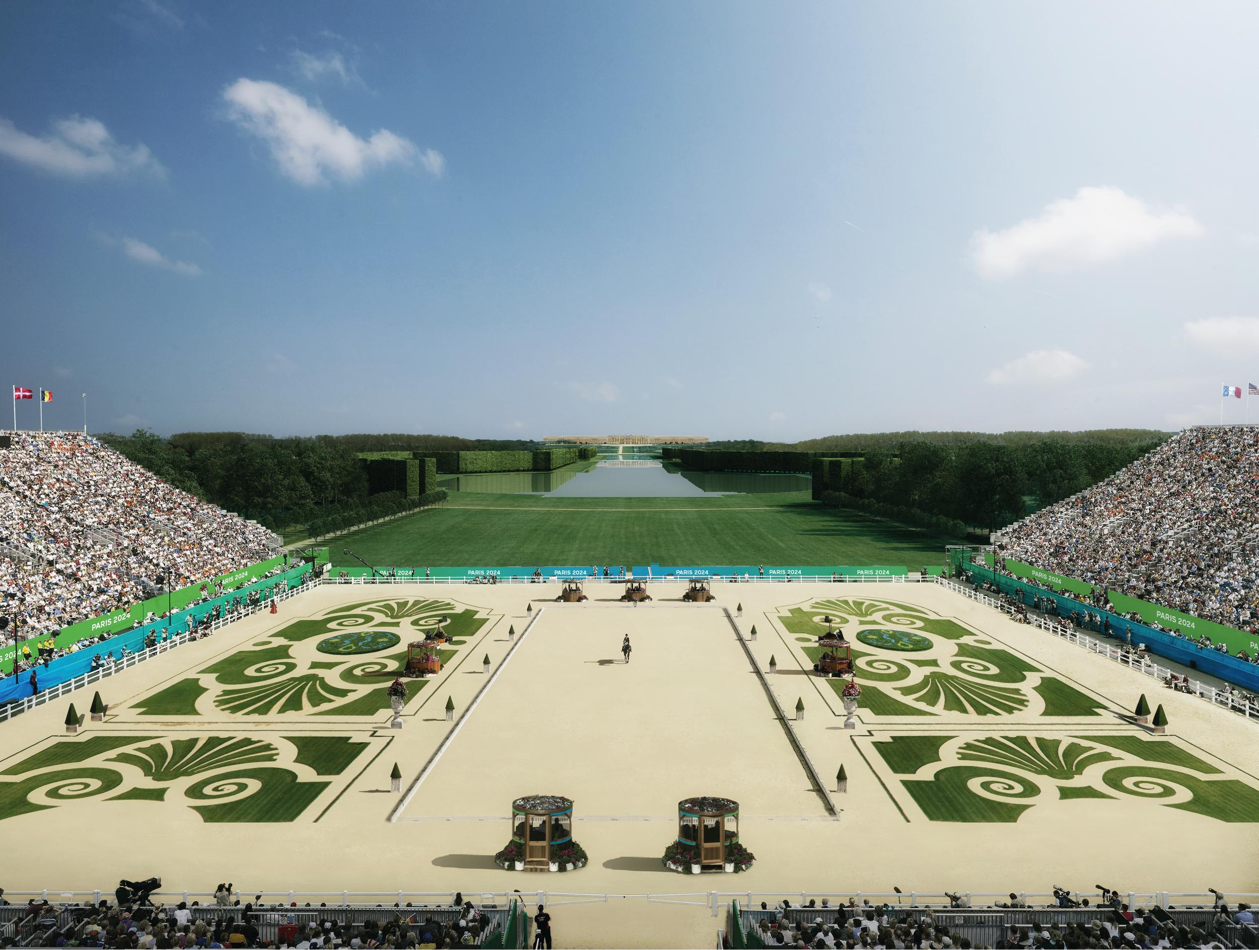 Parc du Chateau de Versailles (Sports Equestres + Pentathlon) 1-2