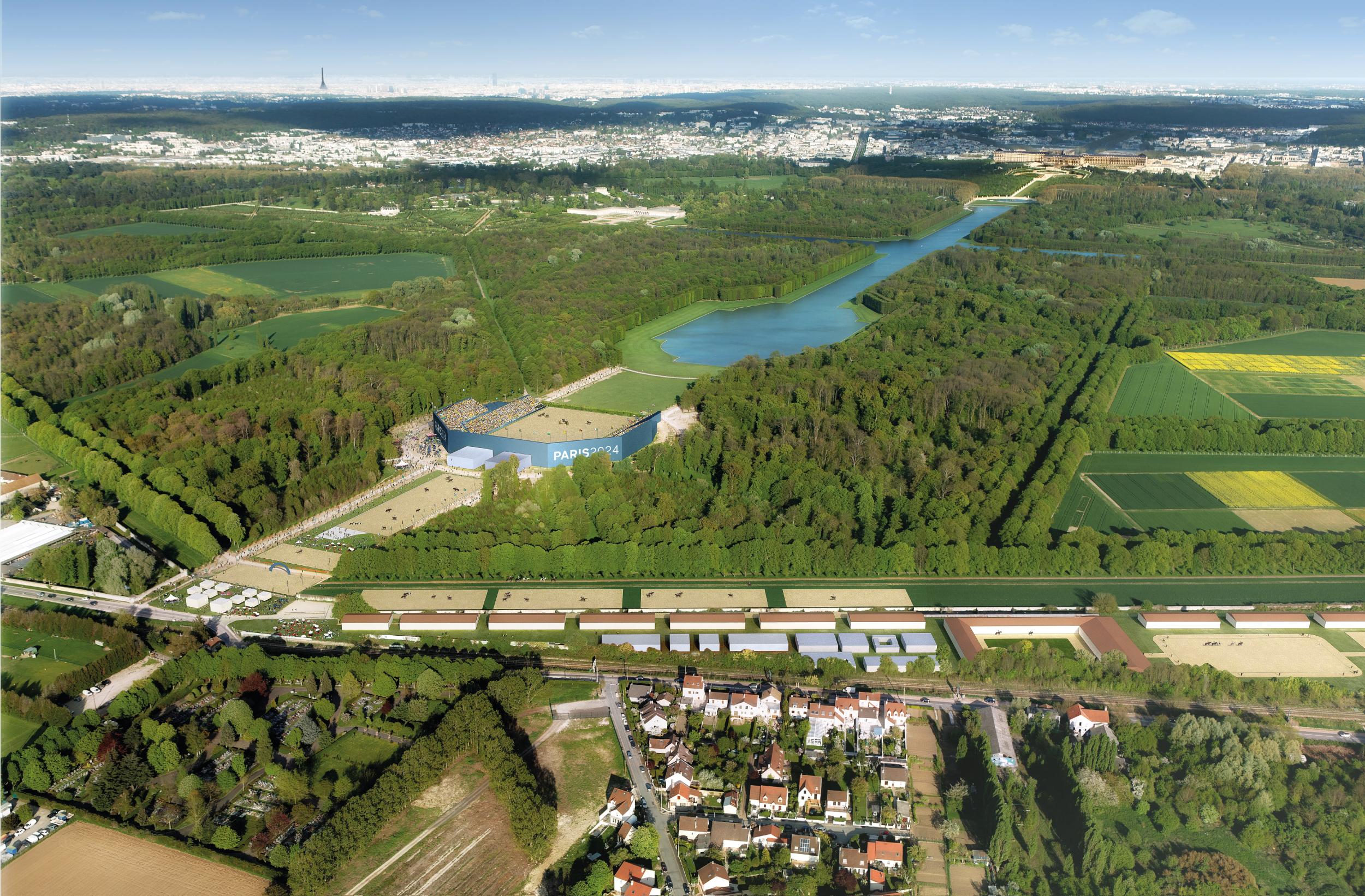 Parc du Chateau de Versailles (Sports Equestres + Pentathlon) 2-2
