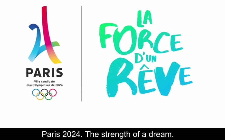 Paris 2024 Olympic slogan