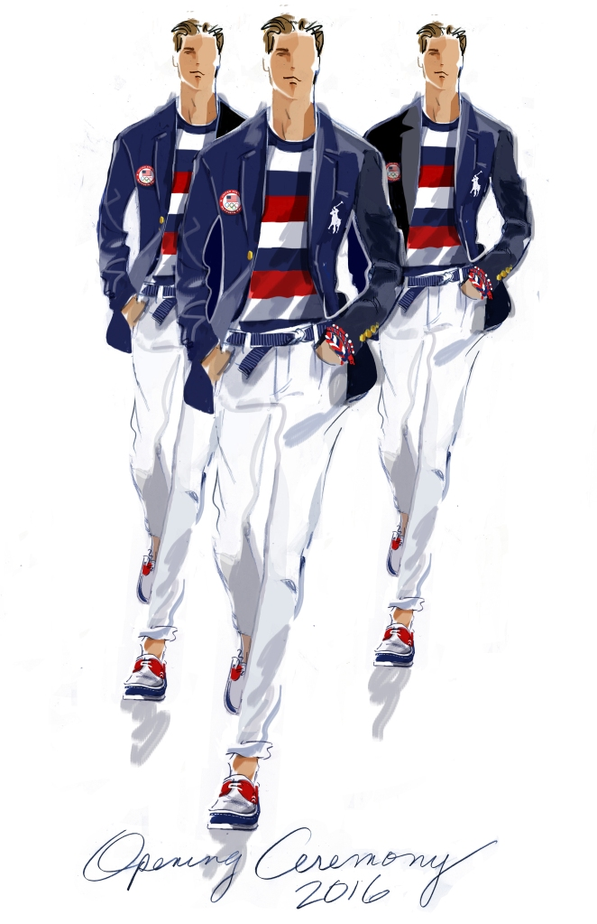 Olympics Opening Uniform, Mens