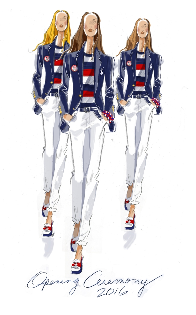 Olympics Opening Uniform, Womens