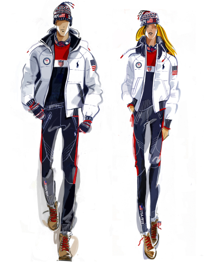 Team USA Closing Ceremony uniforms