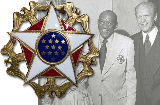 Jesse Owens Gerald Ford
