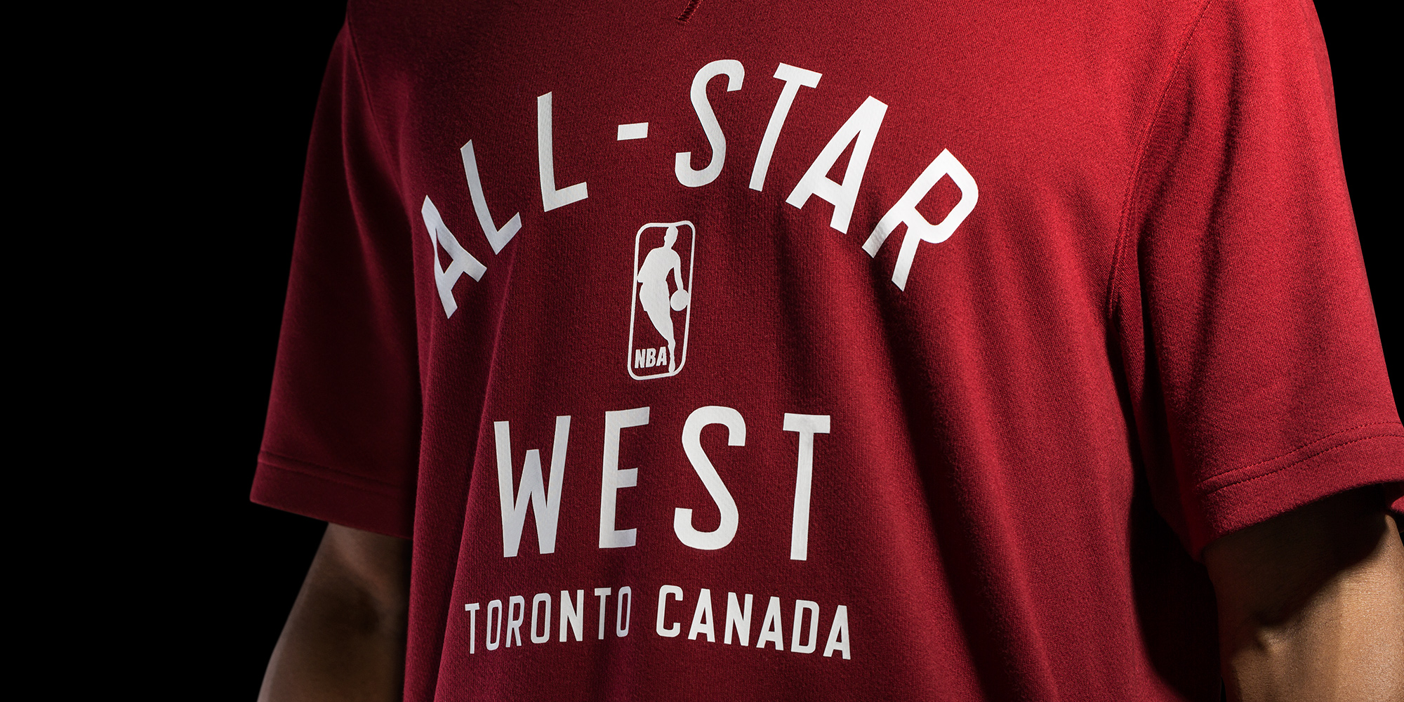 adidas-NBA All-Star, West Shooting Shirt Front H