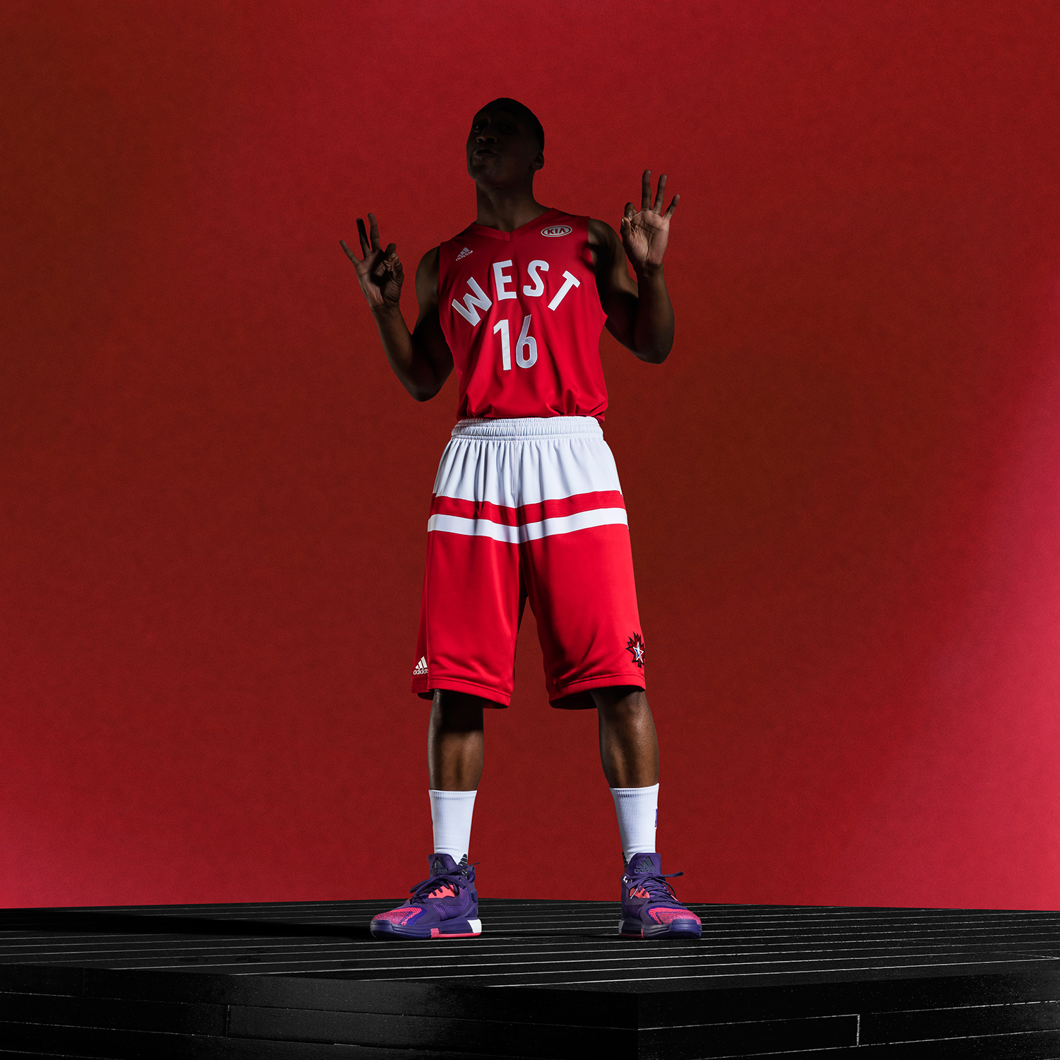 adidas-NBA All-Star West Uniform, Sq