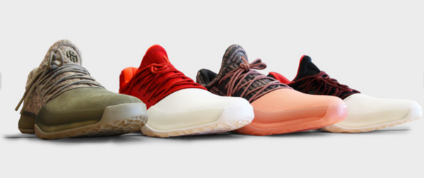 James Harden 1 colorways