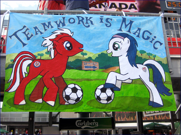 alex morgan and brek shea as my little ponies