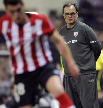 Athletic Bilbao's coach Marcelo Bielsa (