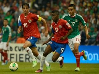 Costa Rica and Mexico clash.