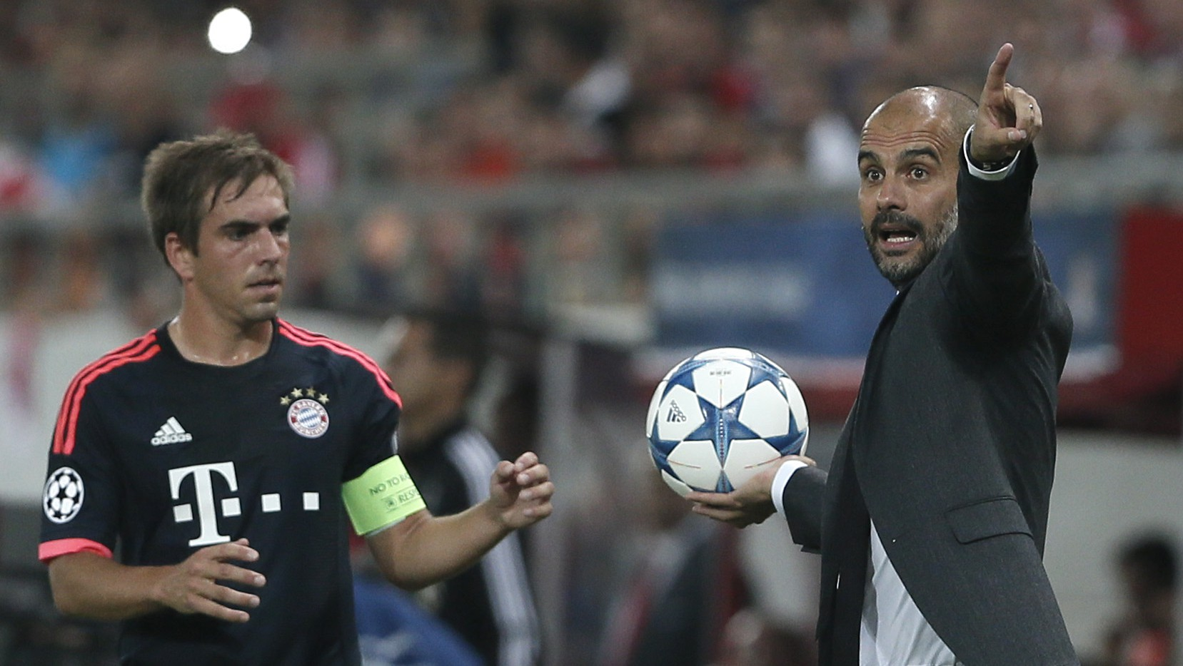 Pep Guardiola , Philipp Lahm