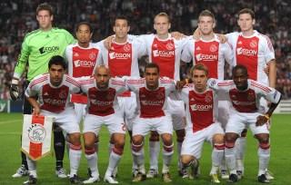 Alderweireld and Vertonghen together at Ajax, back right.