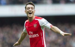 Mesut Ozil, Arsenal FC