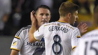 Robbie Keane & Steven Gerrard, LA Galaxy
