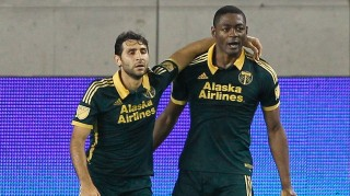 Diego Valeri and Fanendo Adi, Portland Timbers FC