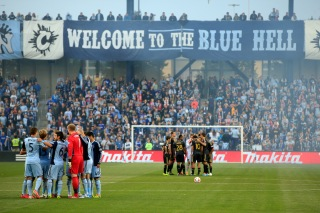 KANSAS CITY, KS - MAY 14: Sporting KC prepare to take on the Philadelphia Union at Sporting Park on May 14, 2014 in Kansas City, Kansas. (Photo by Jamie Squire/Getty Images)