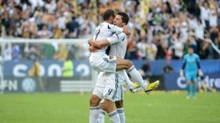 Juninho & Omar Gonzalez, LA Galaxy