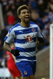 READING, ENGLAND - DECEMBER 20: Danny Williams of Reading celebrates after scoring the opening goal of the game during the Sky Bet Championship match between Reading and Blackburn Rovers on December 20, 2015 in Reading, United Kingdom. (Photo by Ben Hoskins/Getty Images)