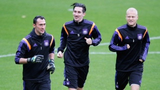 Kljestan while playing at Anderlecht