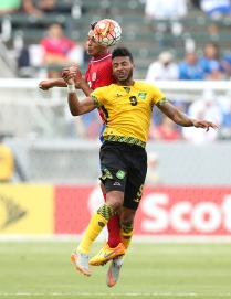 Costa Rica Jamaica in their CONCACAF Gold Cup Group B match at StubHub Center on July 8, 2015 in Los Angeles, California.