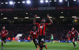 during the Barclays Premier League match between A.F.C. Bournemouth and Southampton at Vitality Stadium on March 1, 2016 in Bournemouth, England.