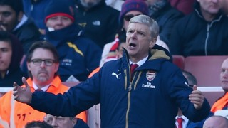 LONDON, ENGLAND - MARCH 13: Arsene Wenger manager of Arsenal reacts during the Emirates FA Cup sixth round match between Arsenal and Watford at Emirates Stadium on March 13, 2016 in London, England. (Photo by Shaun Botterill/Getty Images)