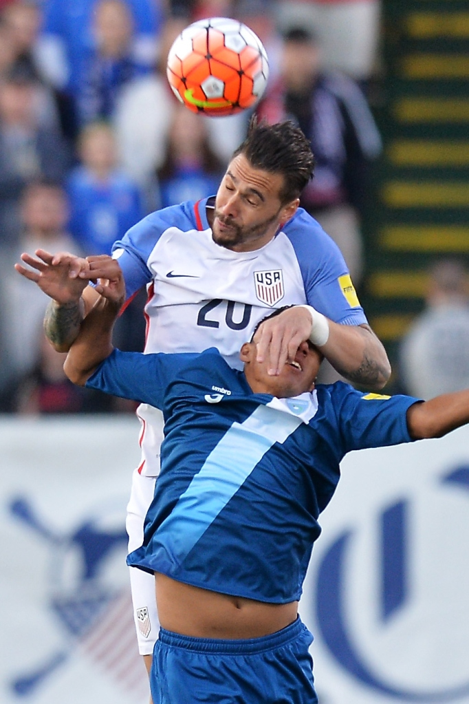 USMNT defender Cameron against Guatemala. (Getty Images)