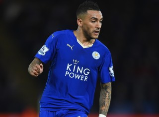 LEICESTER, ENGLAND - MARCH 01: Danny Simpson of Leicester City in action during the Barclays Premier League match between Leicester City and West Bromwich Albion at The King Power Stadium on March 1, 2016 in Leicester, England. (Photo by Laurence Griffiths/Getty Images)
