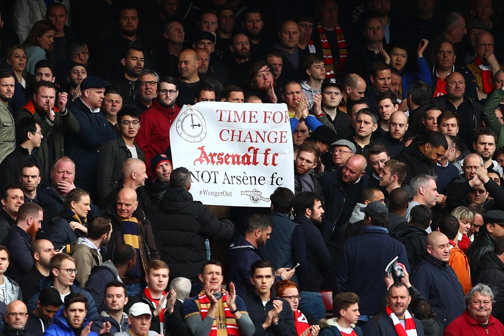 Fans have called for the dismissal of Arsene Wenger, but theres plenty of risk involved (Photo by Clive Rose/Getty Images)