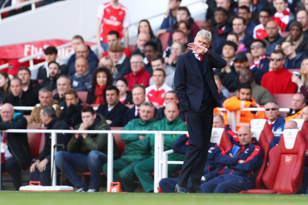 Arsene Wenger's consistency has slowly transformed him into a polarizing figure (Photo by Paul Gilham/Getty Images)