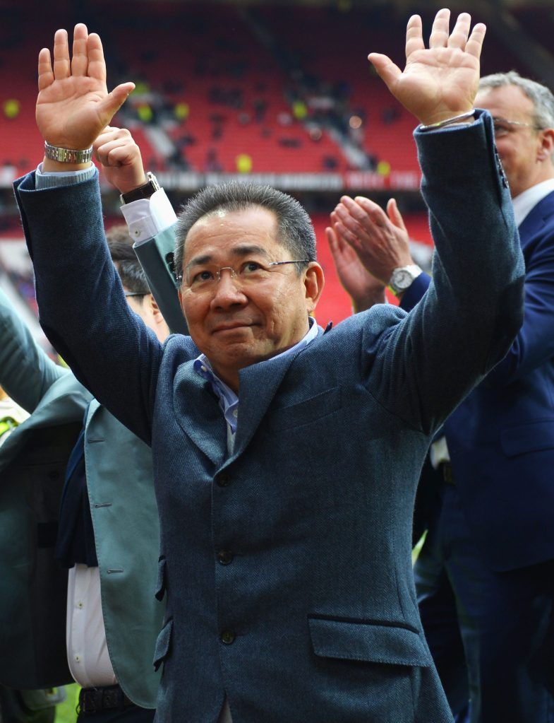 Leicester City chairman Vichai Srivaddhanaprabha has plenty of work in front of him this summer. (Photo by Michael Regan/Getty Images)