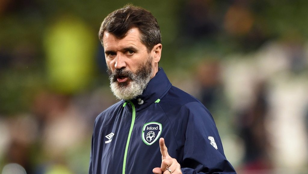 DUBLIN, IRELAND - MARCH 25:  Republic of Ireland assitant manager Roy Keane during the international friendly match between the Republic of Ireland and Switzerland at Aviva Stadium on March 25, 2016 in Dublin, Ireland.   (Photo by Charles McQuillan/Getty Images)