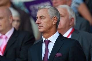 CARDIFF, WALES - SEPTEMBER 06: Former Wales striker Ian Rush watches the action during the UEFA EURO 2016 group B qualifying match between Wales and Israel at Cardiff City Stadium on September 6, 2015 in Cardiff, United Kingdom. (Photo by Stu Forster/Getty Images)