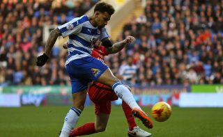 READING, ENGLAND - DECEMBER 20: Danny Williams of Reading scores the opening goal of the game during the Sky Bet Championship match between Reading and Blackburn Rovers on December 20, 2015 in Reading, United Kingdom. (Photo by Ben Hoskins/Getty Images)