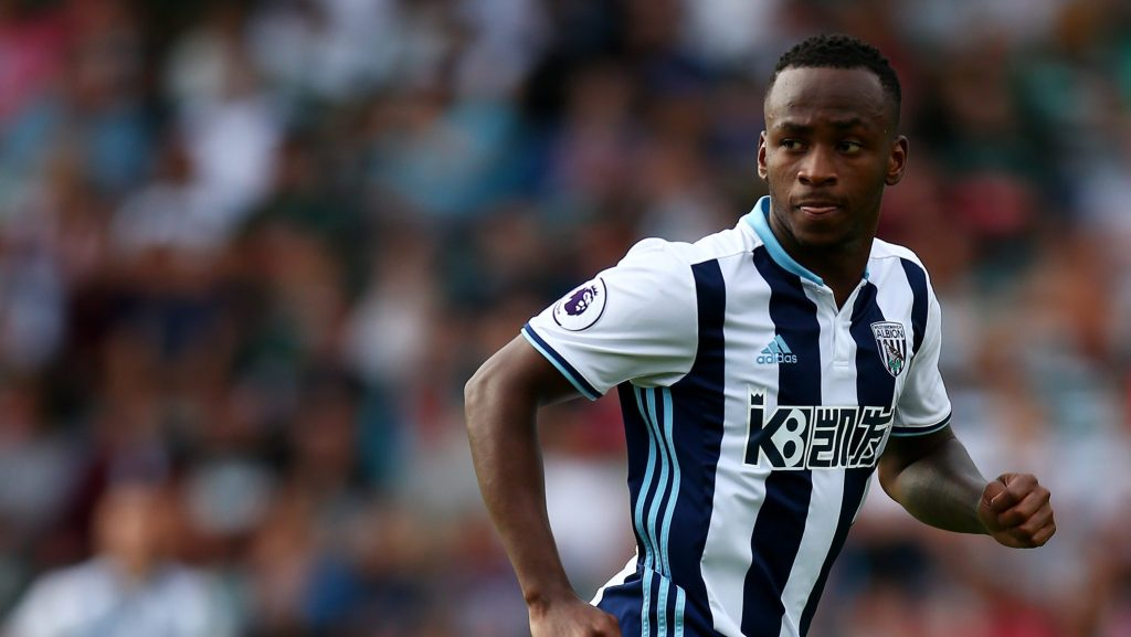 PLYMOUTH, ENGLAND - JULY 30:  Saido Berahino of West Bromwich Albion in action during the pre-season friendly between Plymouth and West Bromwich Albion at Home Park on July 30, 2016 in Plymouth, England.  (Photo by Jordan Mansfield/Getty Images)