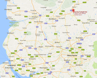 Burnley map