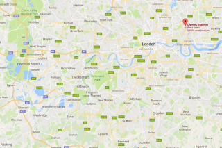 West Ham map