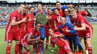 FC Dallas, 2016 Supporters Shield winners (Photo credit: FC Dallas / Facebook)
