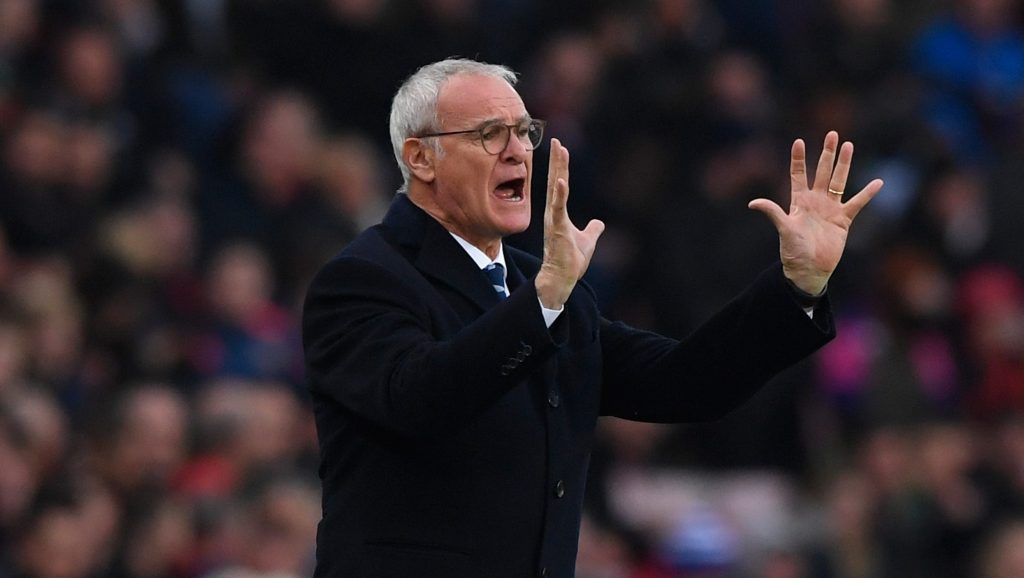 Claudio Ranieri admitted Leicester City is in a relegation battle (Photo by Stu Forster/Getty Images)