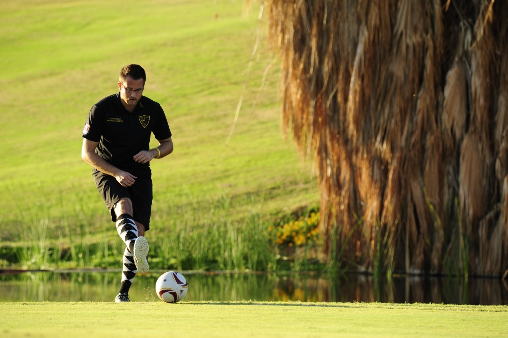 Images of the American Foot Golf, final day, at the Desert Willow Golf Resort in Palm Desert, Ca., on Sunday, November 6, 2016. Photo by Rodrigo Pena