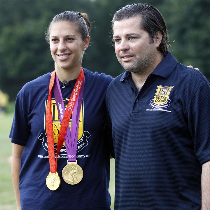 Lloyd and Galanis in 2012. (AP)