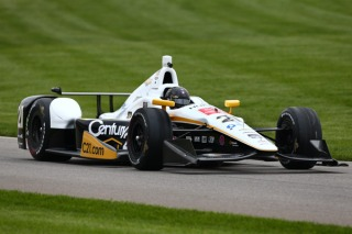 Josef Newgarden now in Century 21 colors. Photo: INDYCAR