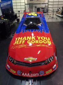John Force Jeff Gordon photo 2