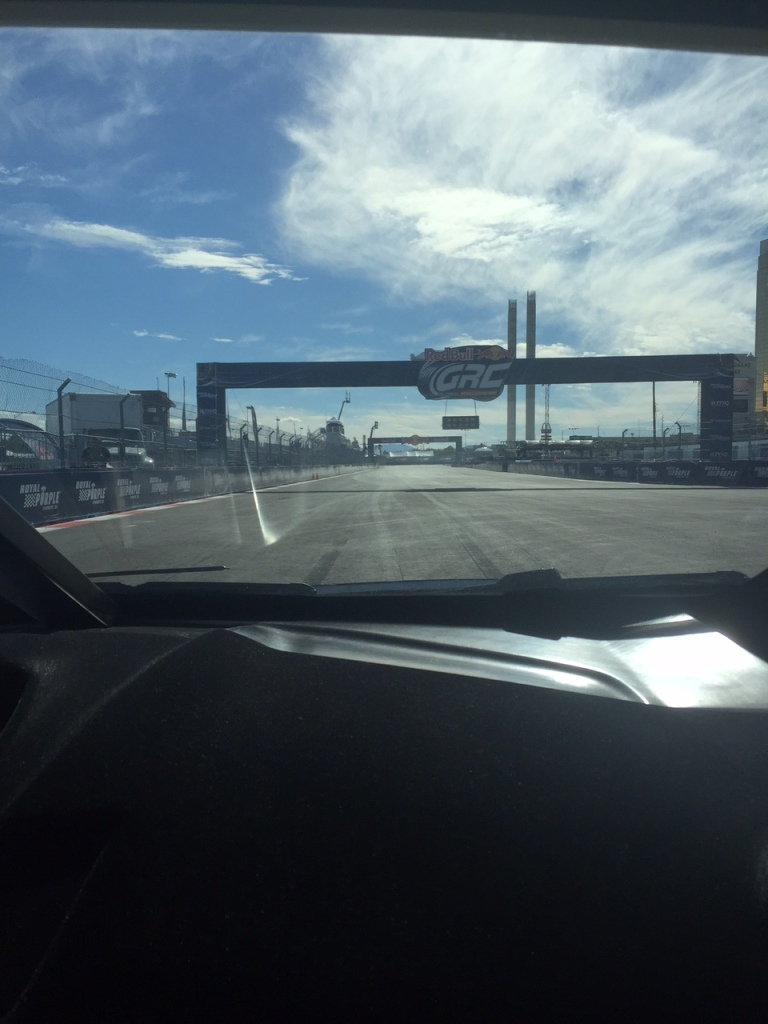 View from the passenger's seat. Photo: Tony DiZinno