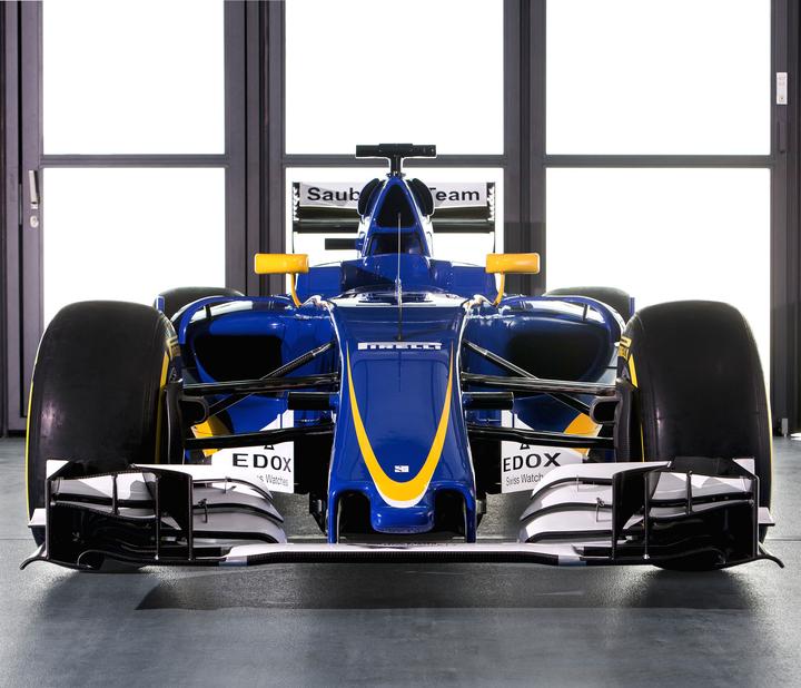 Sauber front