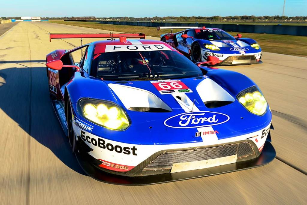 Ford GT Sebring test 4