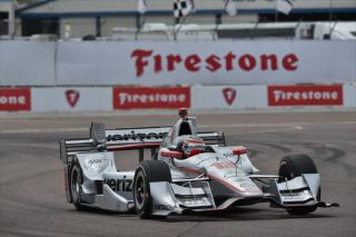 Power at St. Pete. Photo: IndyCar